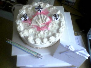Lemongrass's Korean birthday cake
