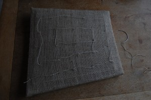 The complete twine spiral will allow even distribution of the padding